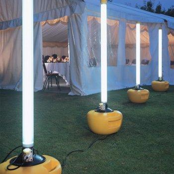 Sichere Leuchte für Event
